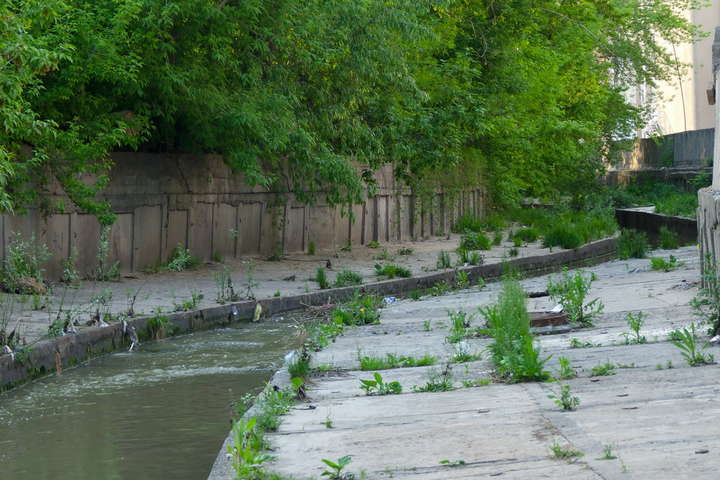 In Kiev, the river Lybid will be cleaned